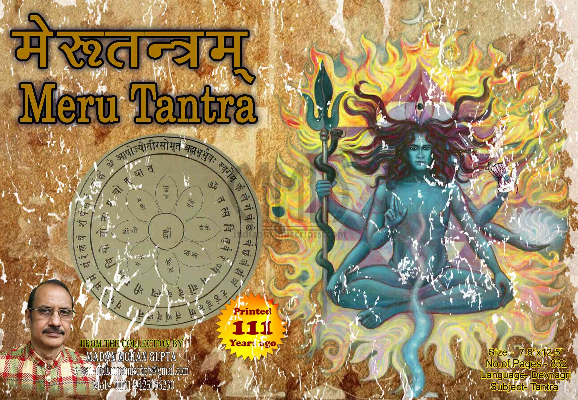 Tantra, Yantra & Mantra - Rare Collection of Scripts only at