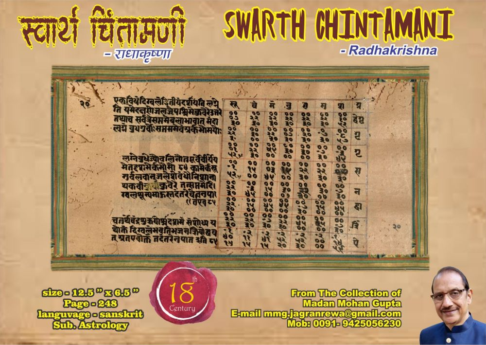 swarth chintamani
